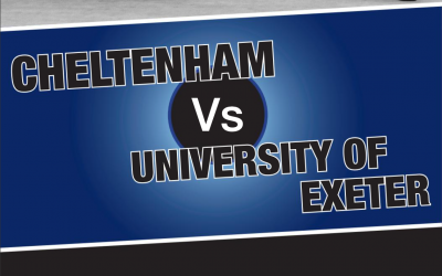 Cheltenham v University of Exeter – Programme